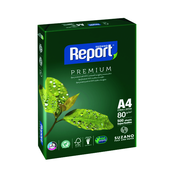 Report A4 Copier White Paper (Pack of 2500) REP2180