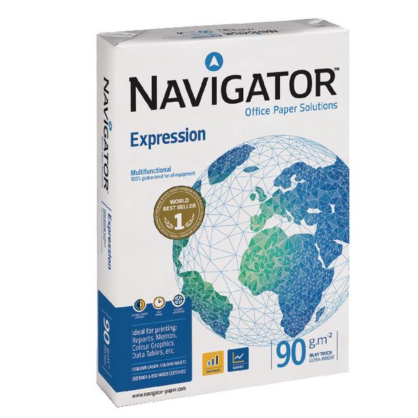 Navigator Expression A4 Paper 90gsm (Pack of 2500) NAVA490