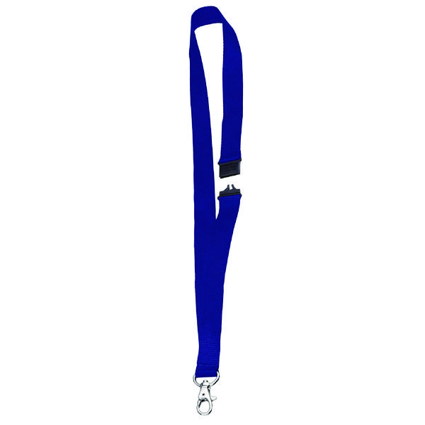 Announce Textile Necklace Blue (Pack of 10)