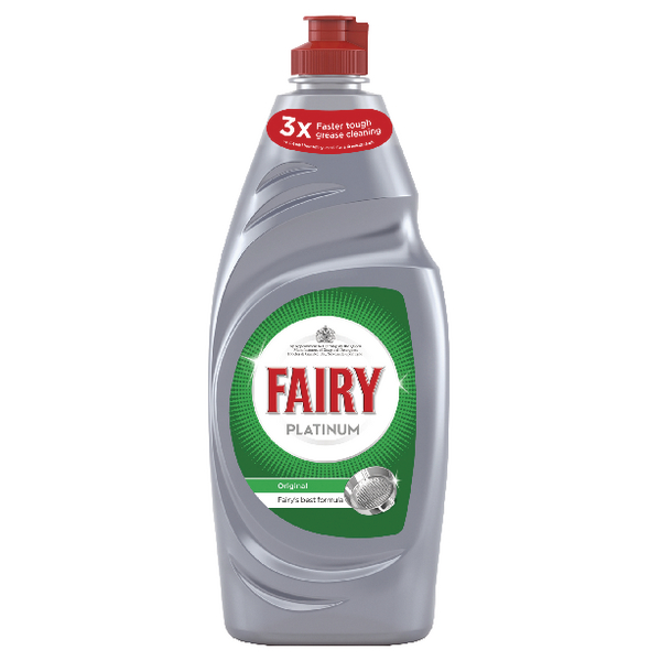 PLATINUM FAIRY PLATINUM DISH WASH 615ML
