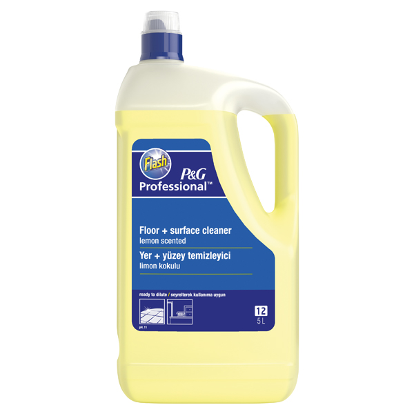 Flash Multi Surface and Floor Cleaner Lemon 5 Litre 5413149200111