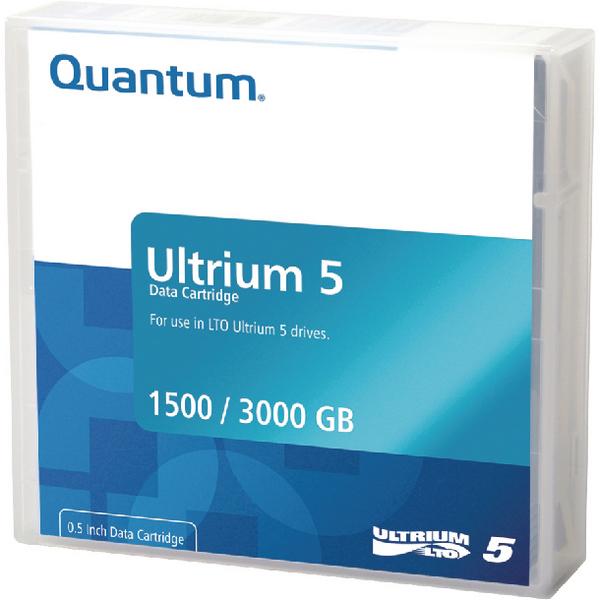 Quantum LTO-5 Ultrium Data Cartridge 1.5TB/3TB MR-L5MQN-01