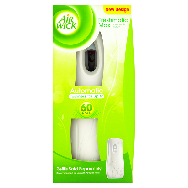 Image for Air Wick Freshmatic Max Automatic Spray Gadget White 3016868