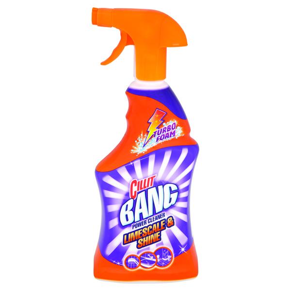 Image for Cillit Bang Limescale and Shine Spray 750ml 8158803