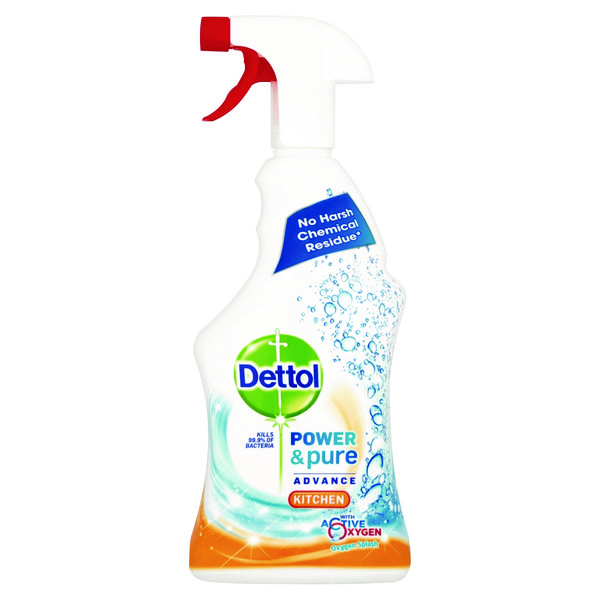 Dettol Power and Pure Advance Kitchen Spray 750ml RB774775