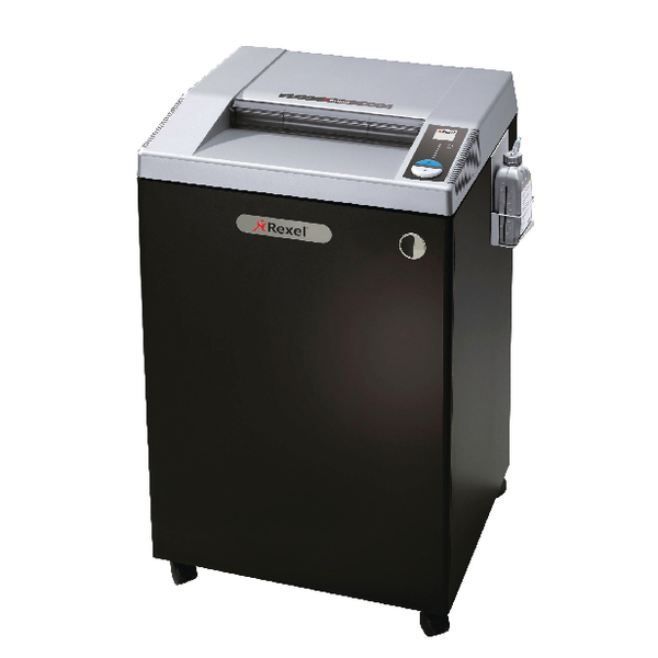Rexel Black RLWX25 Wide Entry Cross-Cut Shredder 2103025
