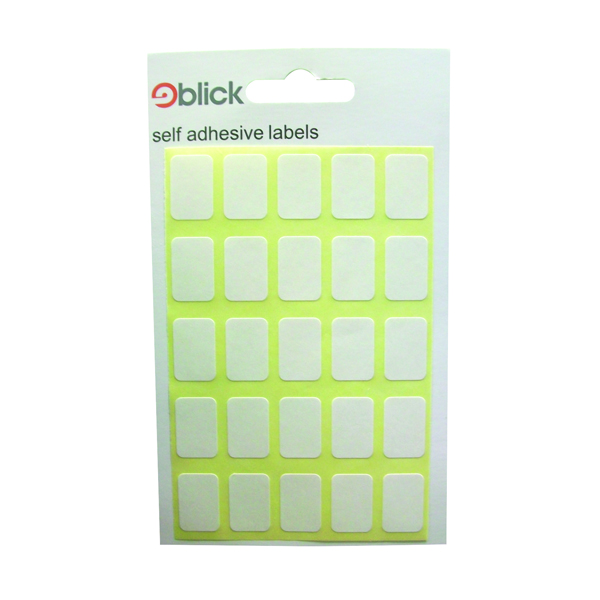 Blick White 12x18mm Labels (Pack of 3500) RS002758