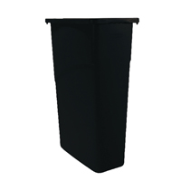 Rubbermaid Slim Jim Blk Container 87Ltr
