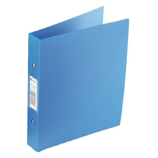 Rexel Budget 2 Ring Binder A4 Blue (Pack of 10) 13422BU