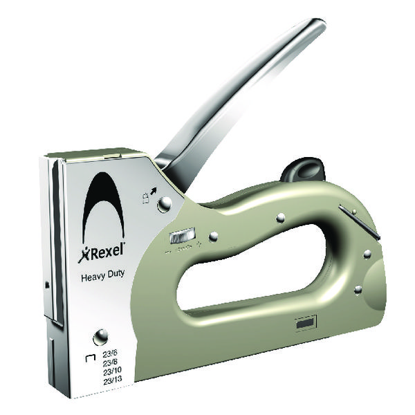 Rexel Heavy Duty Tacker Silver 2101209