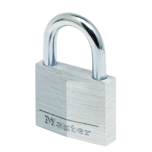 Master Lock 30mm Aluminium Padlock (Dual clock levers and 4-pin cylinder)  9130EURD 40041