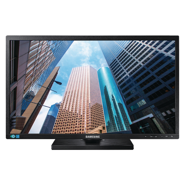 Image for Samsung 24 inch Black Full HD Monitor LS24E45KBSV/EN