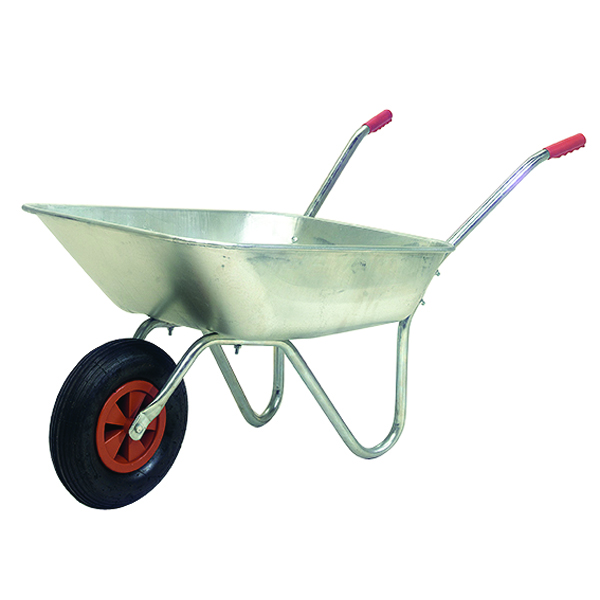 Image for Medium Duty Wheelbarrow Silver 379991