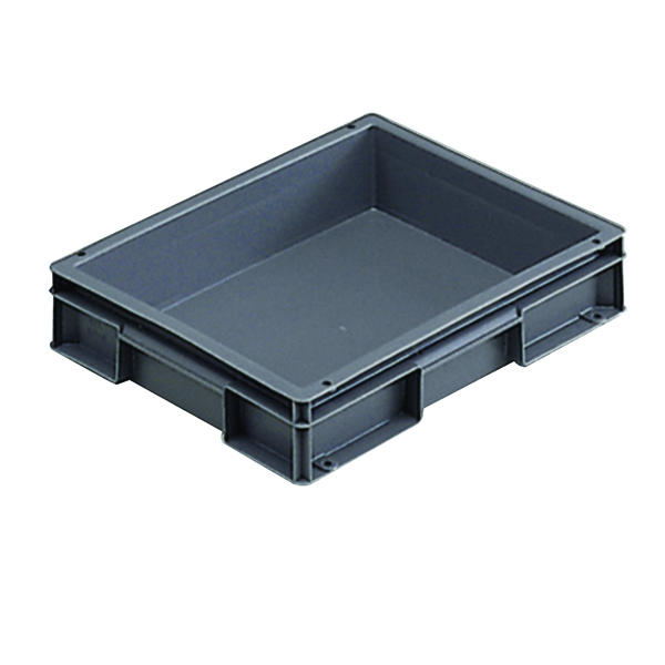 VFM 400x300x74mm Grey European Stacking Container 307455