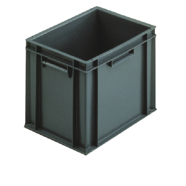 VFM 400x300x319mm Grey European Stacking Container 307483