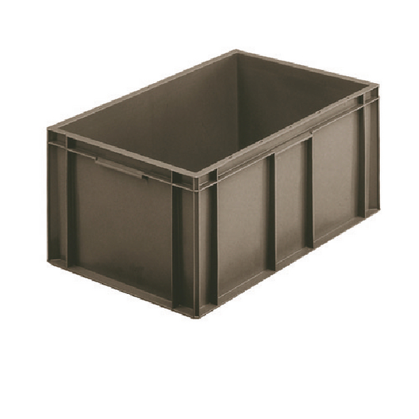 VFM 600x400x175mm Grey European Stacking Container 307487
