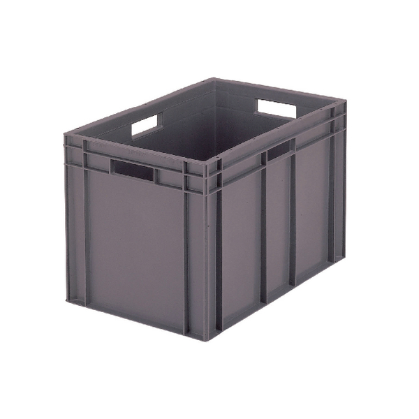 VFM 600x400x319mm Grey European Stacking Container 63192