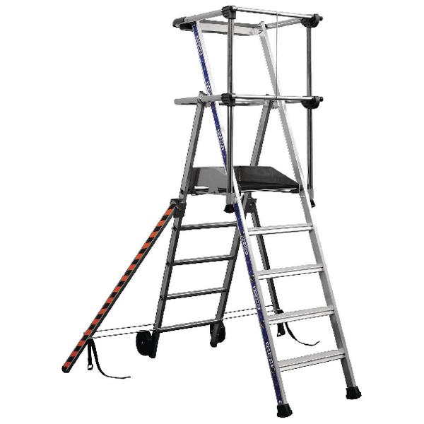 Image for Work Platform 3 Tread Silver 307569