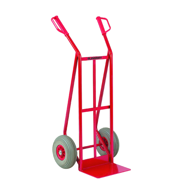 Red General Purpose Hand Truck Foam Tyres (Load capacity: 250kg) 308075