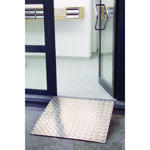 Image for Aluminium Ramp 800x800mm Capacity 300kg 309607
