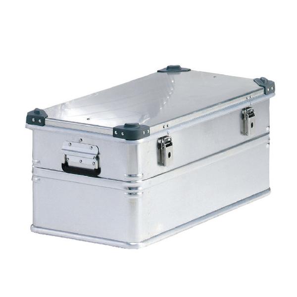 Container With Lid 50kg Capacity Aluminium 309692
