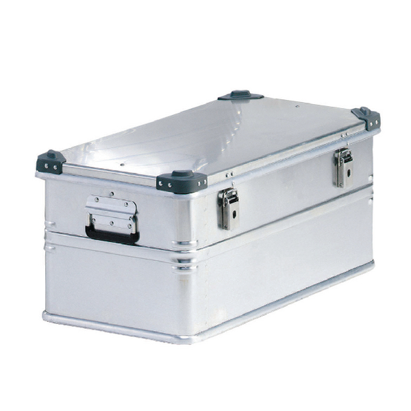 Container With Lid 75kg Capacity Aluminium 309693