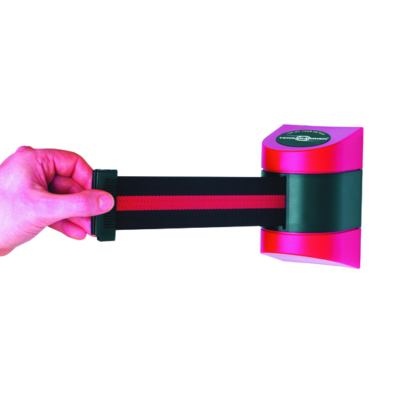 20 x Barrier 4.6m Fully Retractable Red/Black (For use with Tensator Post or independently) 309830
