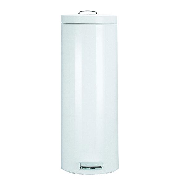 Pedal Bin 30 Litre 695x293mm White 311732