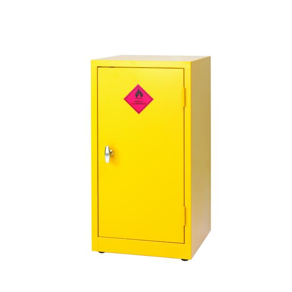 Hazardous Substance Storage Cabinet 36X18X18 inch C/W 1 Shelf Yellow 188740