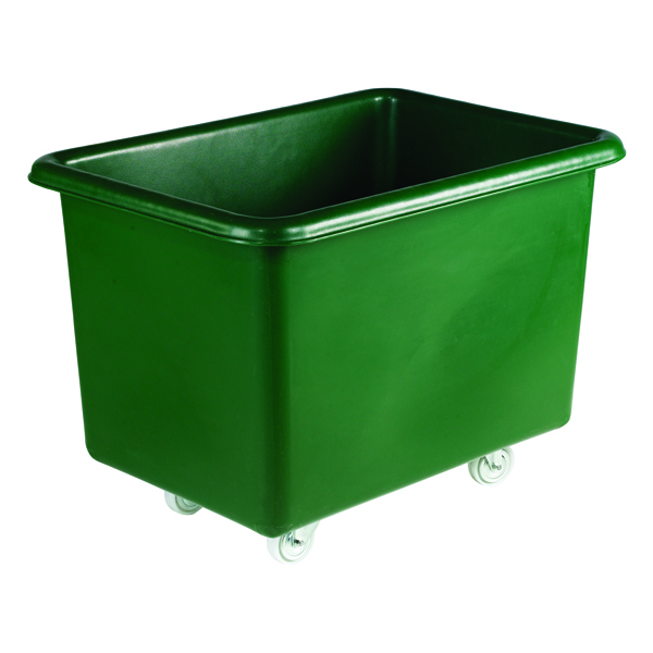 Green Tapered Sides Food Grade 307 Litre Truck Container 316353