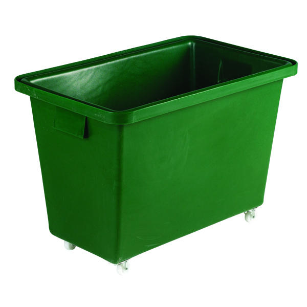 Green Tapered Sides Food Grade 173 Litre Truck Container 316356