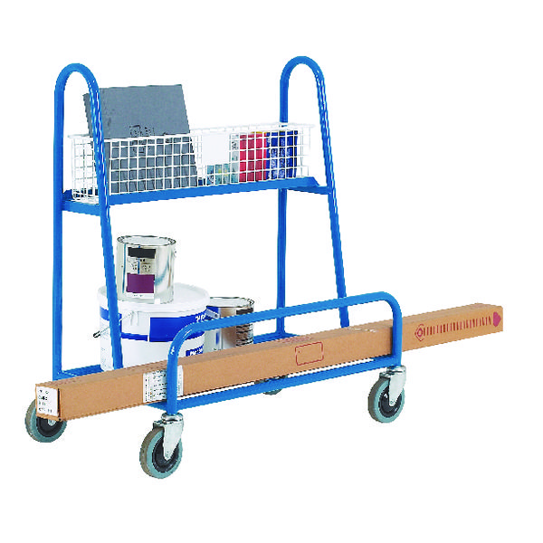 DIY Trolley Board Blue 250kg Capacity 316985
