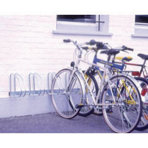 Image for VFM Aluminium Wall/Floor Mounted 4-Bike Cycle Rack 320079