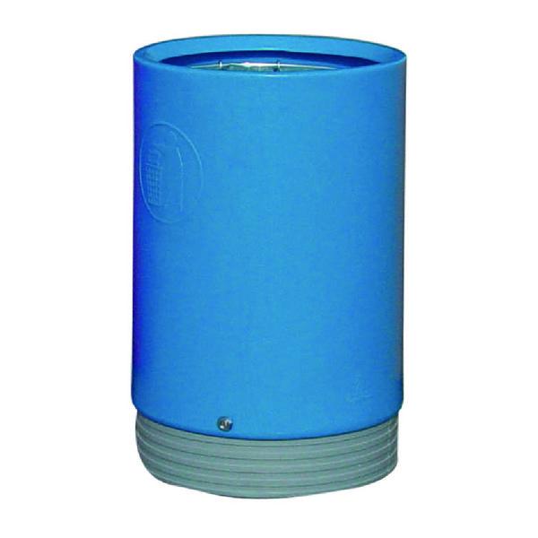 Outdoor Open Top Bin 75 Litre Blue 321777
