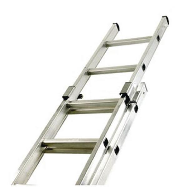 Aluminium Double Section Push Up 16 Rung Ladder 323139