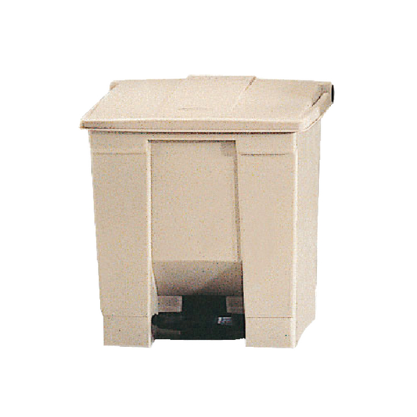 Step-On Container 68 Litres Beige (W500 x D410 x H675mm) 324294