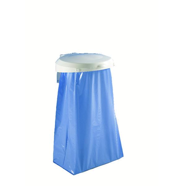 Plastic Round Lid For Smile Sackholder White 348031