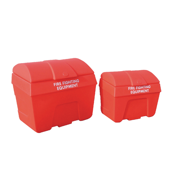 Red 200 Litre Fire Fighting Storage Bin Static 325901
