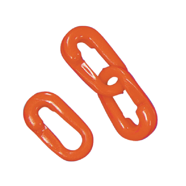 VFM Red Barrier System Split Connector Link 10mm (Pack of 10) 326018