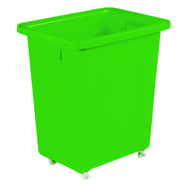 Image for 580X410X700mm Green Mobile Nesting Container 328219