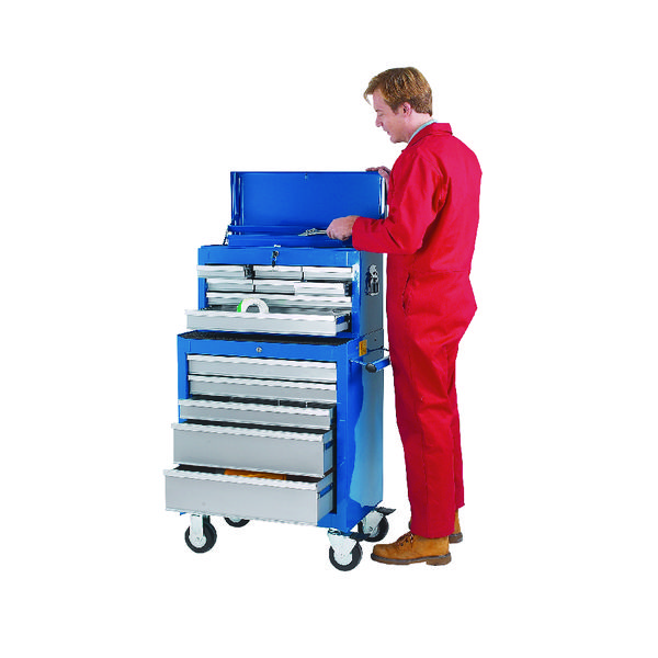 Image for Tool Chest 8 Drawer Blue 329349