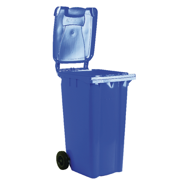 Wheelie Bin 140 Litre Blue (W480 x D555 x H1070mm) 331147