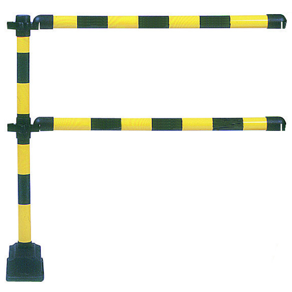 VFM Yellow/Black 1 Metre Express Barrier Extension 349740