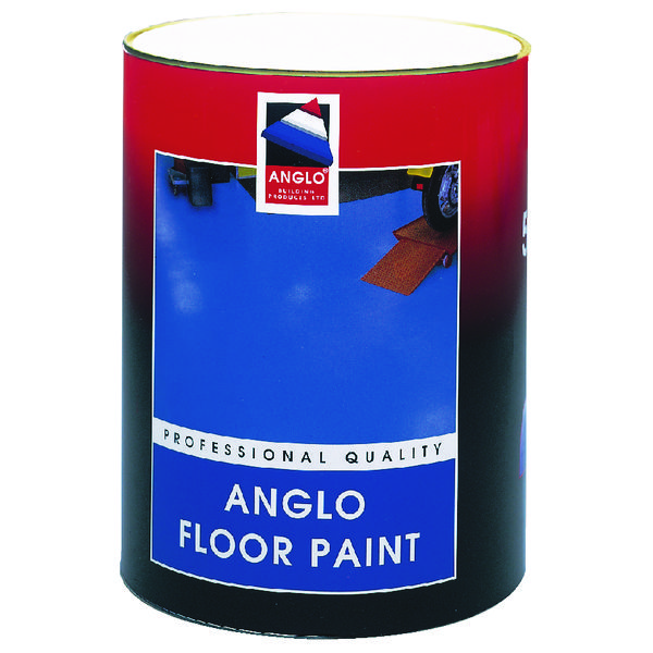 Professional Grade Floor Paint Grey 5 Litre 349750