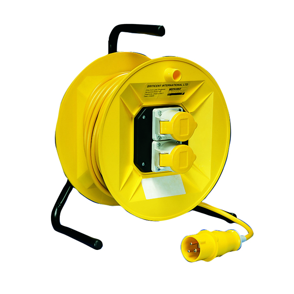 Extension Cable 25 Metre 16Amp 110V 2-Socket 1.5mm 349794
