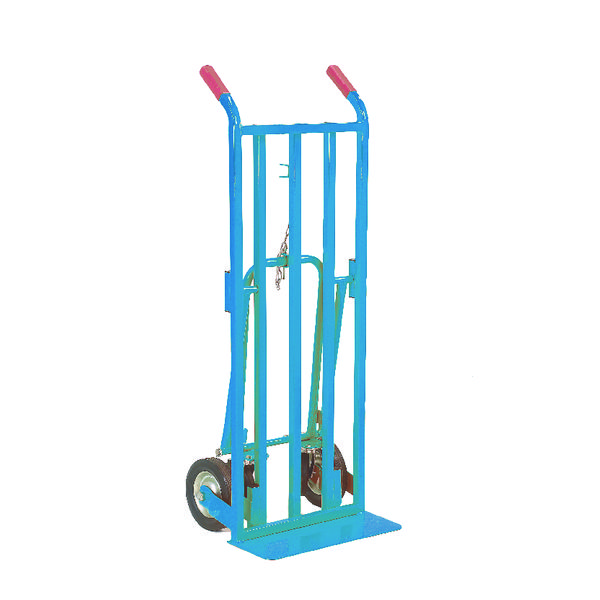Red 3 Position Handtruck (250kg Capacity, Platform L1115 x W470mm) 354877