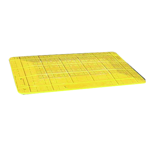 Image for Yellow Safe Kerb Ramp (Suitable for trenches up to 700mm wide) 355831