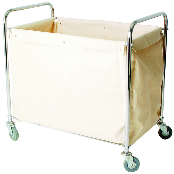 Linen Truck With Bag Silver (W560 x D790 x H910mm) 356926