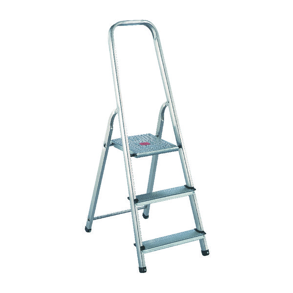 Aluminium Step Ladder 3 Step (Platform sits 570mm Above the Floor) 358737