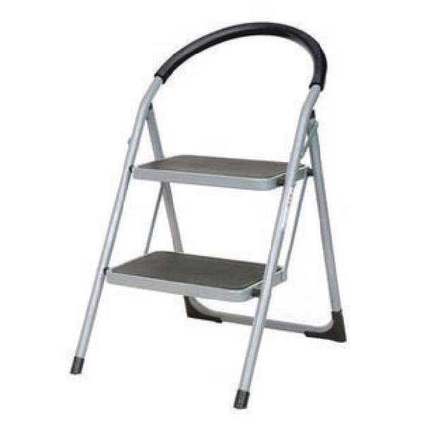 Image for White 2 Tread Step Ladder 359293